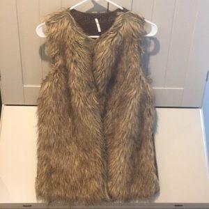 Poof Faux Fur Vest